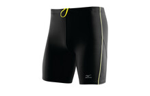 Mizuno Men&#039;s DryLite Performance Mid Tights black/blazing yellow